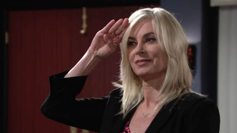 Eileen Davidson as Ashley Abbott on The Young and the Restless