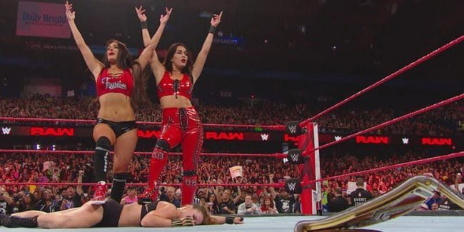 Bella Twins turn heel, shock WWE Universe by attacking Ronda Rousey