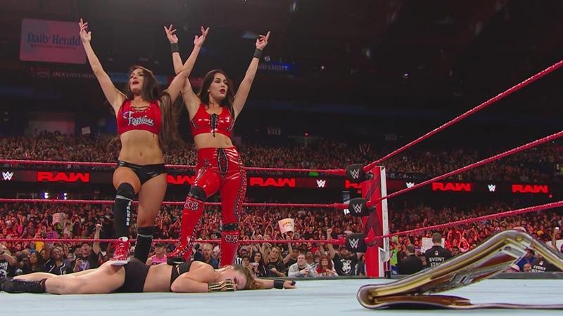 Bella Twins turn heel, shock WWE Universe by attacking Ronda Rousey