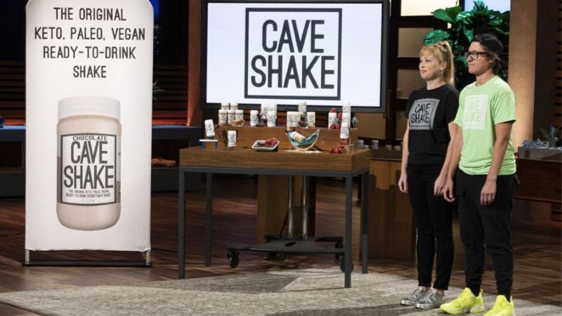Cave Shake presentation on Shark Tank