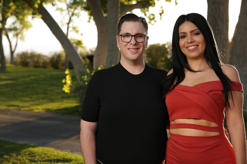 Colt and Larissa from Season 6 of 90 Day Fiance
