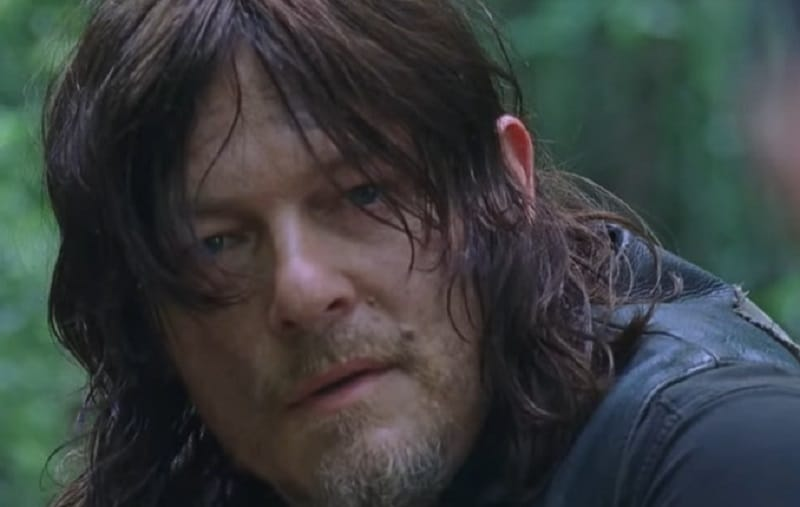 Daryl from The Walking Dead episode on October 21
