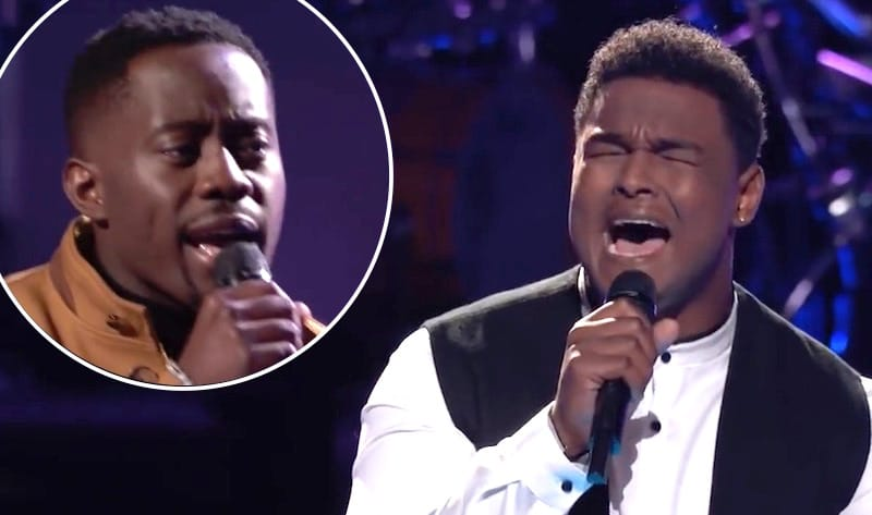 DeAndre Nico and Funsho perform Can You Stand the Rain on The Voice
