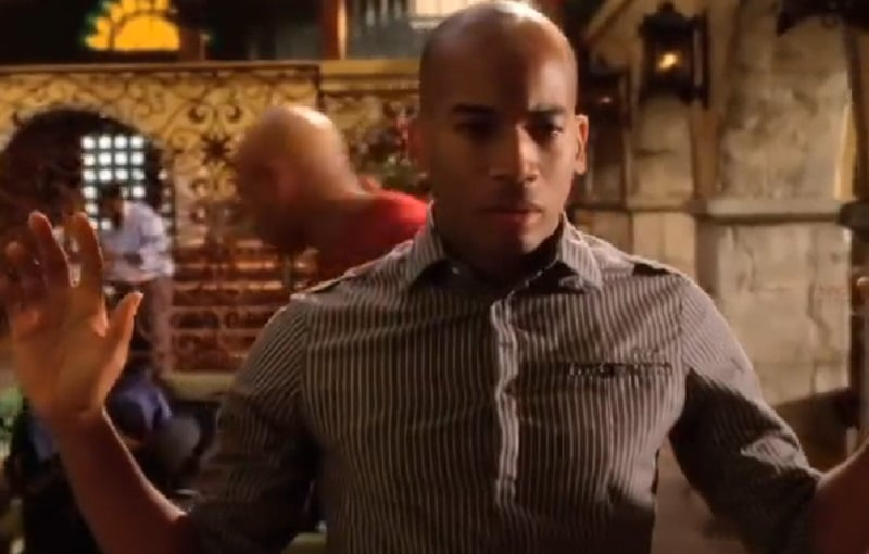 NCIS agent Dominic Vail, played by Adam Jamal Craig, on NCIS: Los Angels Season 1