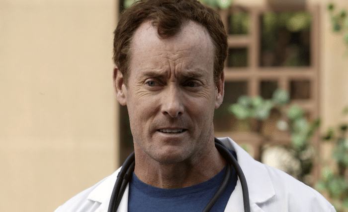 Dr. Cox in Scrubs, a comedy that ran on NBC and ABC. Pic credit: NBC