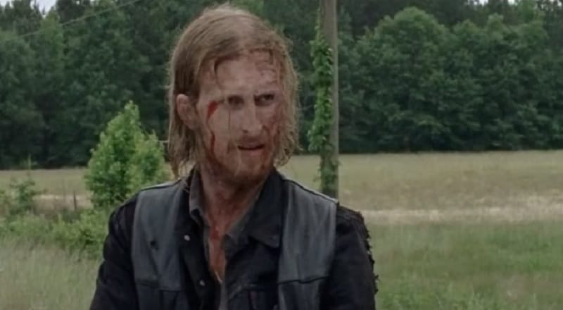 Dwight working for the Saviors on The Walking Dead