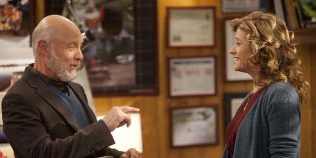 Hector Elizondo and Nancy Travis as Ed and Vanessa on Last Man Standing