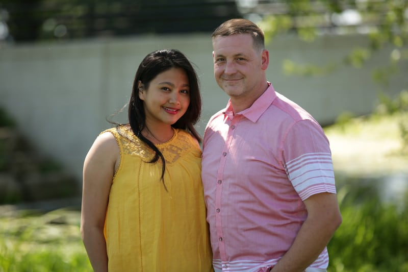 Leida and Eric on Season 6 of 90 Day Fiance