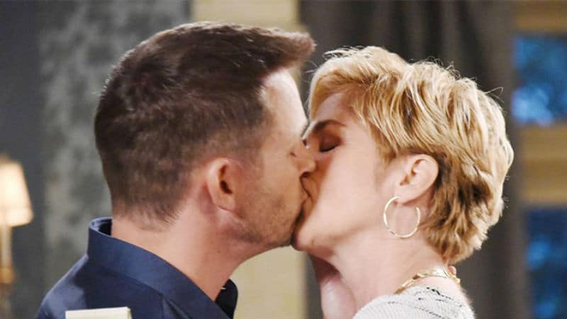 Kassie DePaiva and Eric Martsolf as Eve and Brady on Days of our Lives