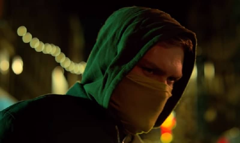 Finn Jones as the Iron Fist on the Marvel Netflix show