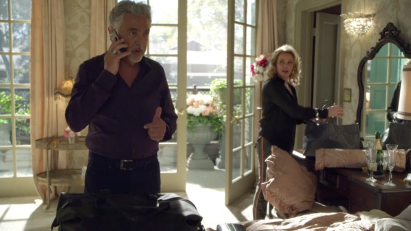Gail O'Grady as Rossi's wife on Criminal Minds