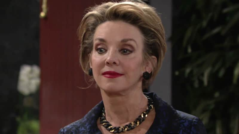 Judith Chapman as Gloria on The Young and the Restless