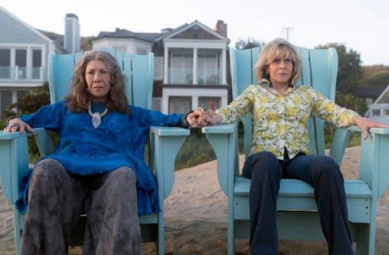 Grace and Frankie played by Jane Fonda and Lily Tomlin