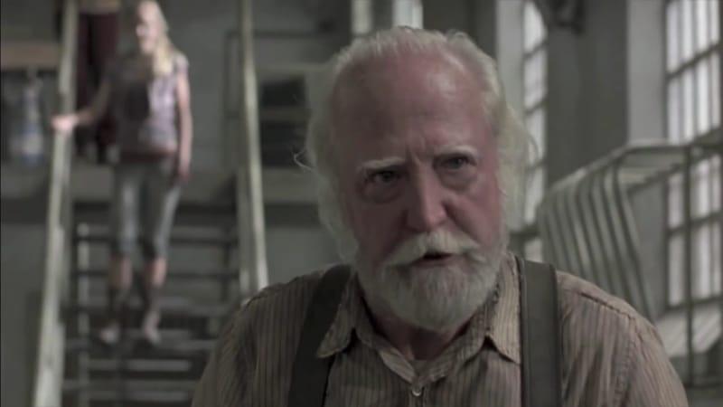Scott Wilson as Hershel Greene on The Walking Dead. Pic credit: AMC