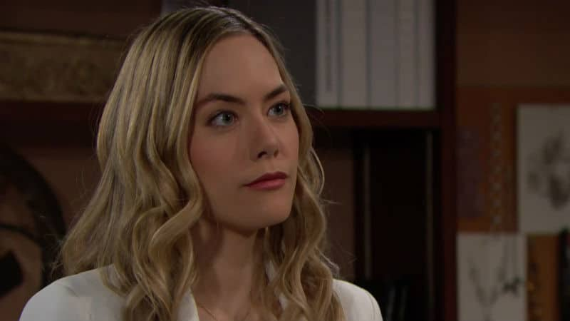 Annika Noelle as Hope Logan on The Bold and the Beautiful