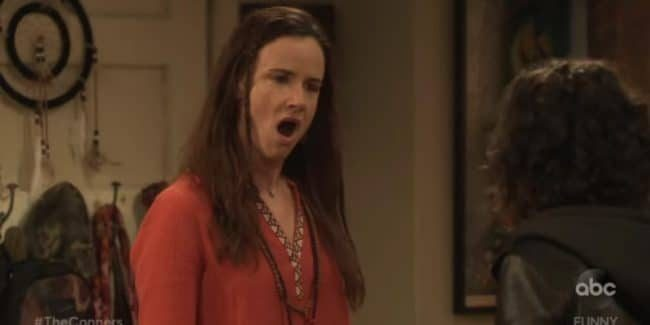 Juliette Lewis plays Blue on The Conners