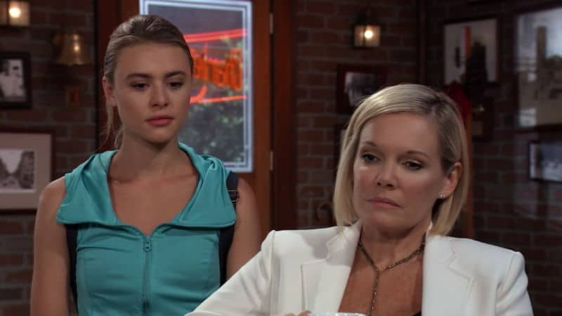 Hayley Erin and Maura West as Kiki and Ava on General Hospital