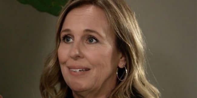 Genie Francis as Laura Spencer Collins on General Hospital