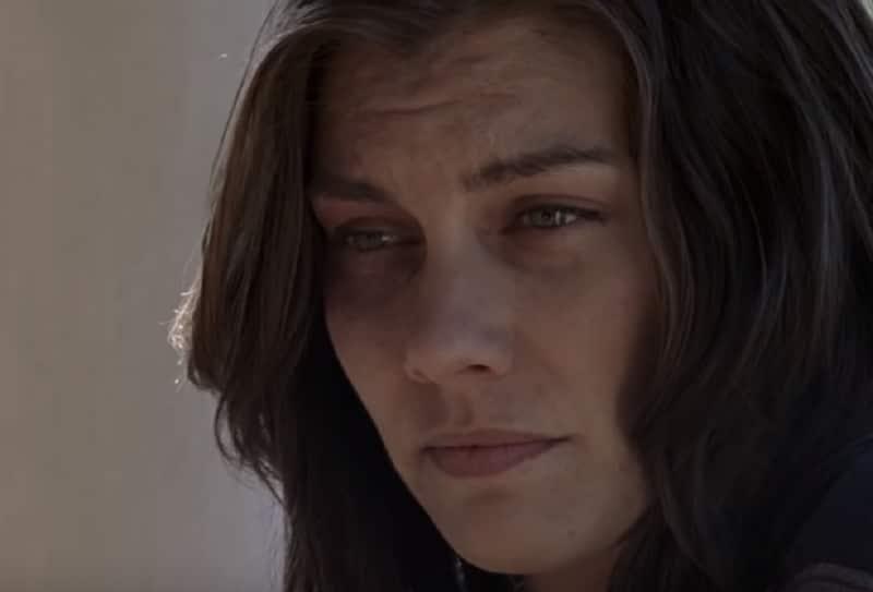 Lauren Cohan as Maggie on The Walking Dead