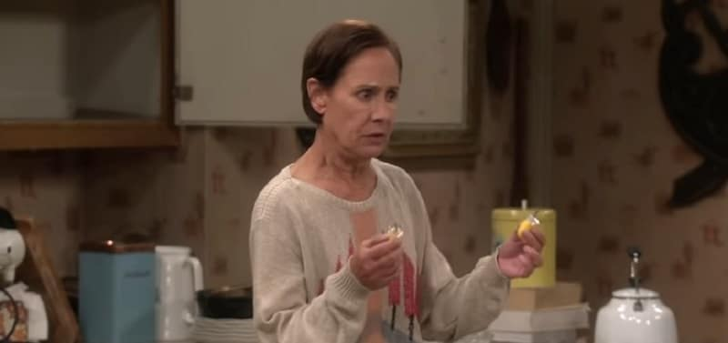 Laurie Metcalf as Jackie Harris during The Conners season premiere on ABC