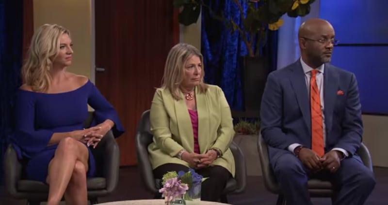 Dr. Jessica Griffin, Dr. Pepper Schwartz and Pastor Calvin Robertson