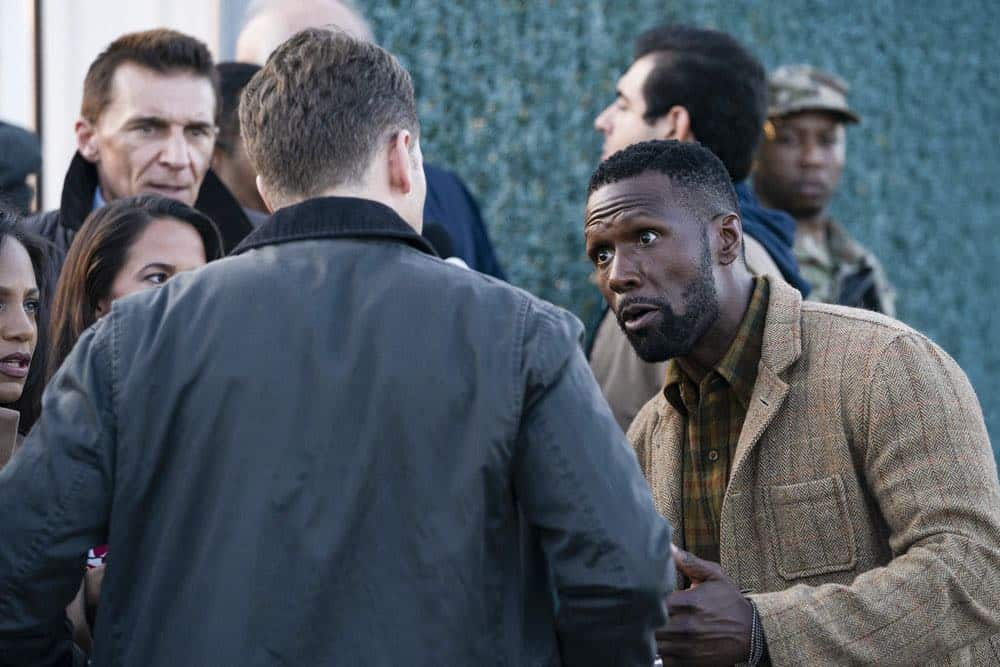 Radd in Manifest is trying to sort the time gap and find his son. Pic credit: NBC