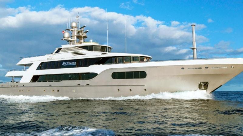 M/Y Seanna, the yacht seen on Below Deck