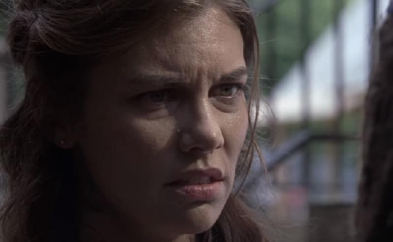 Maggie during the November 4 episode of The Walking Dead