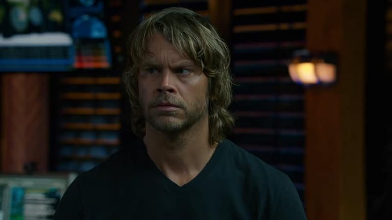 NCIS Agent Marty Deeks during October 14 episode of NCIS: Los Angeles