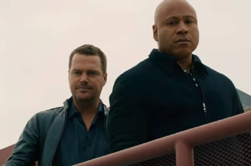Chris O'Donnell and LL Cook J on NCIS: Los Angeles