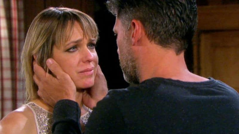Greg Vaughan and Arianne Zucker as Eric and Nicole on Days of our Lives