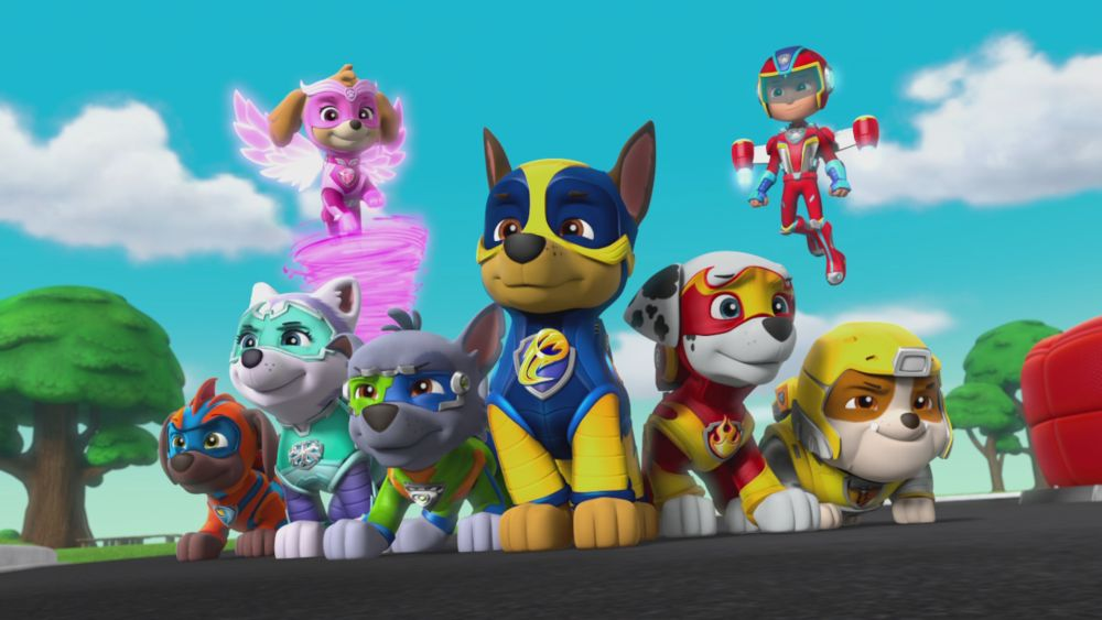Don't doubt these mighty pups, they are on the job! Pic credit: Nickelodeon