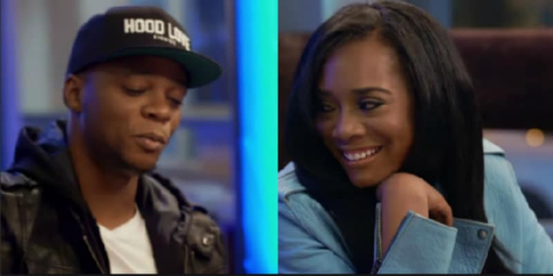Papoose and Yandy from Love & Hip Hop: New York