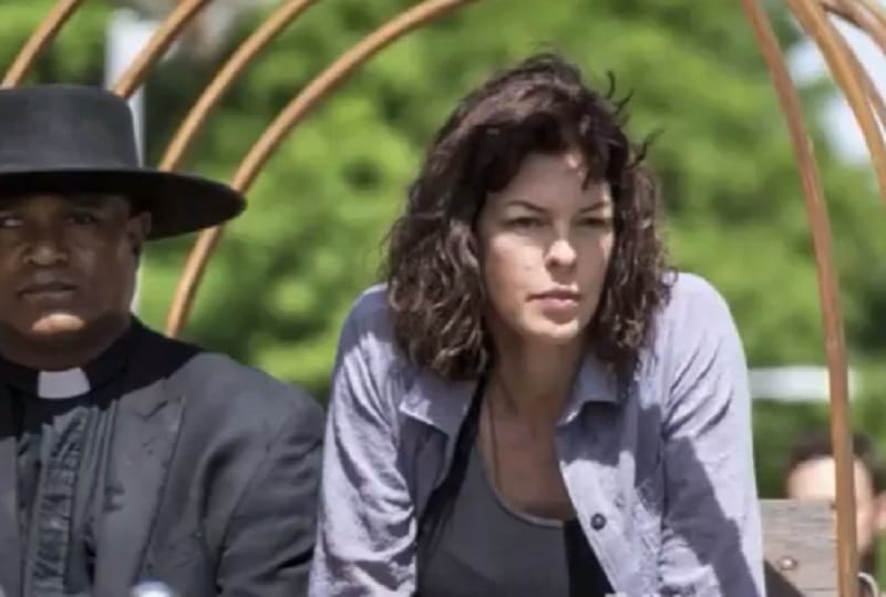 Pollyanna McIntosh as Anne on The Walking Dead