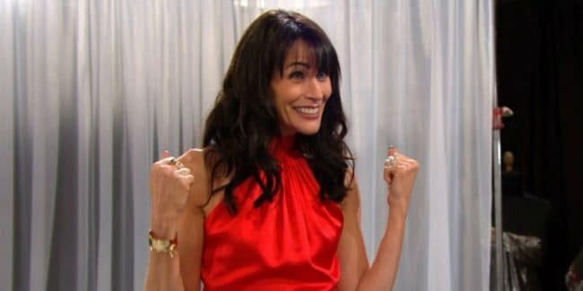 Rena Sofer as Quinn on The Bold of the Beautiful