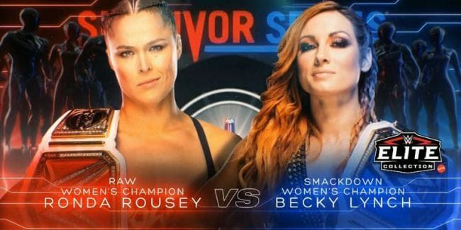 WWE announces huge women's match for Survivor Series in November