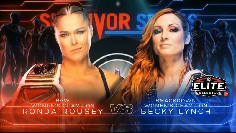WWE announces huge women's match for Survivor Series in November