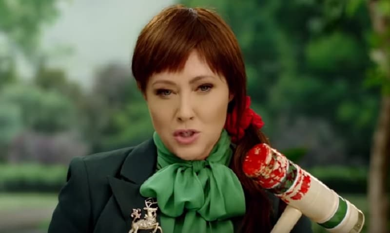 Shannen Doherty on Heathers for the Paramount Network