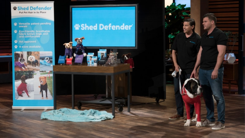 Shed Defender on Shark Tank