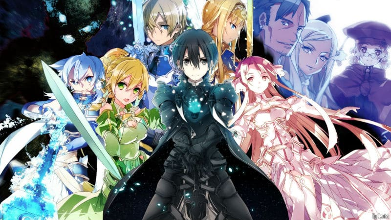 Sword Art Online key art