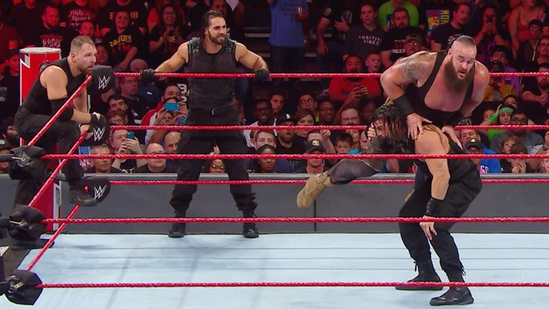 Dean Ambrose walks out on The Shield on WWE Monday Night Raw [Video]