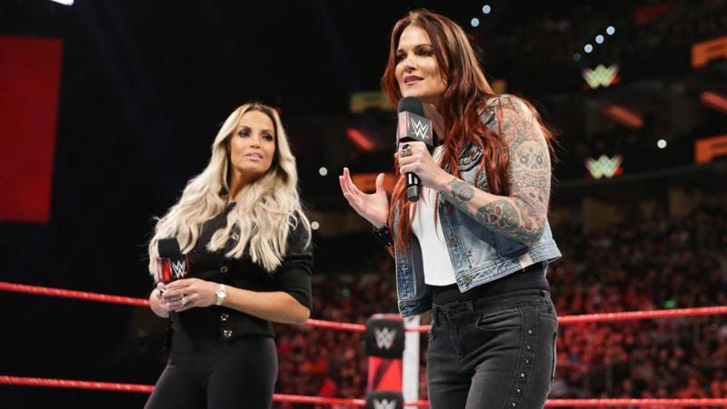 Trish Stratus and Lita in the WWE