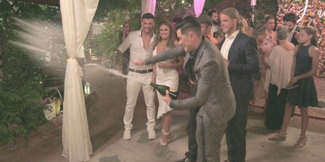 Jax and Brittany's engagement party