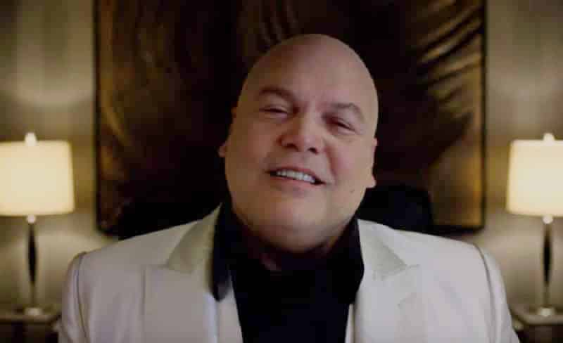 Vincent D'Onofrio as Wilson Fisk (Kingpin) on Daredevil