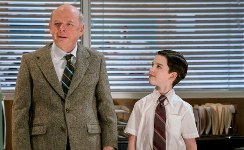 Wallace Shawn appears alongside Iain Armitage on Young Sheldon
