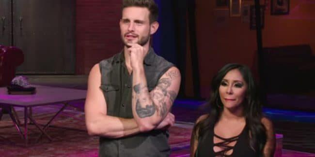 Nico Tortorella hosts How Far Is Tattoo Far? with Nicole 'Snooki' Polizzi. Pic credit: MTV