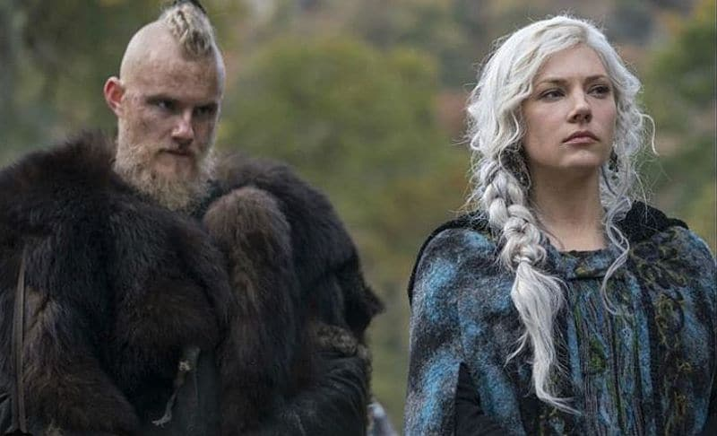 Physical changes are afoot for Lagertha and Bjorn who are waging war in Ivar. Pic credit: History