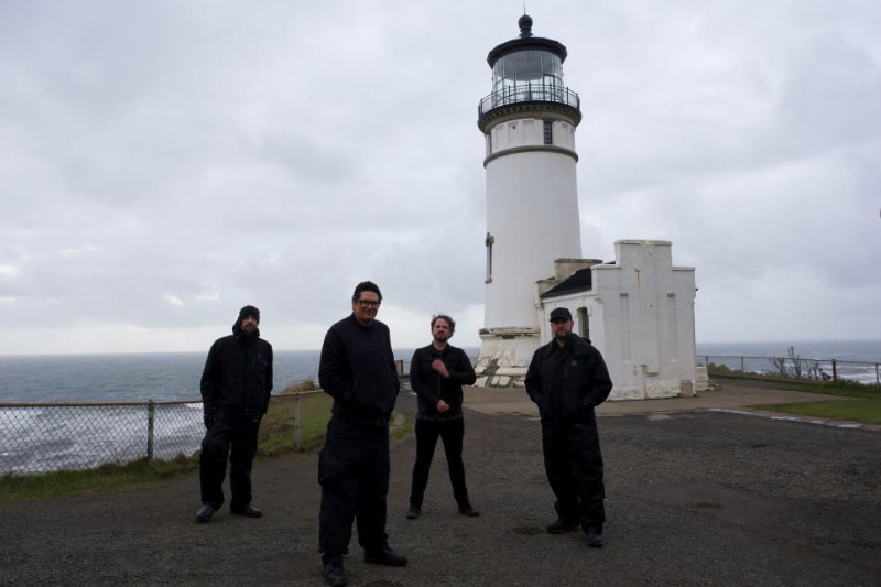 Zak Bagans and the Ghost Adventures crew at Cape Disappointment