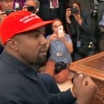 Kanye West meeting with Donald Trump