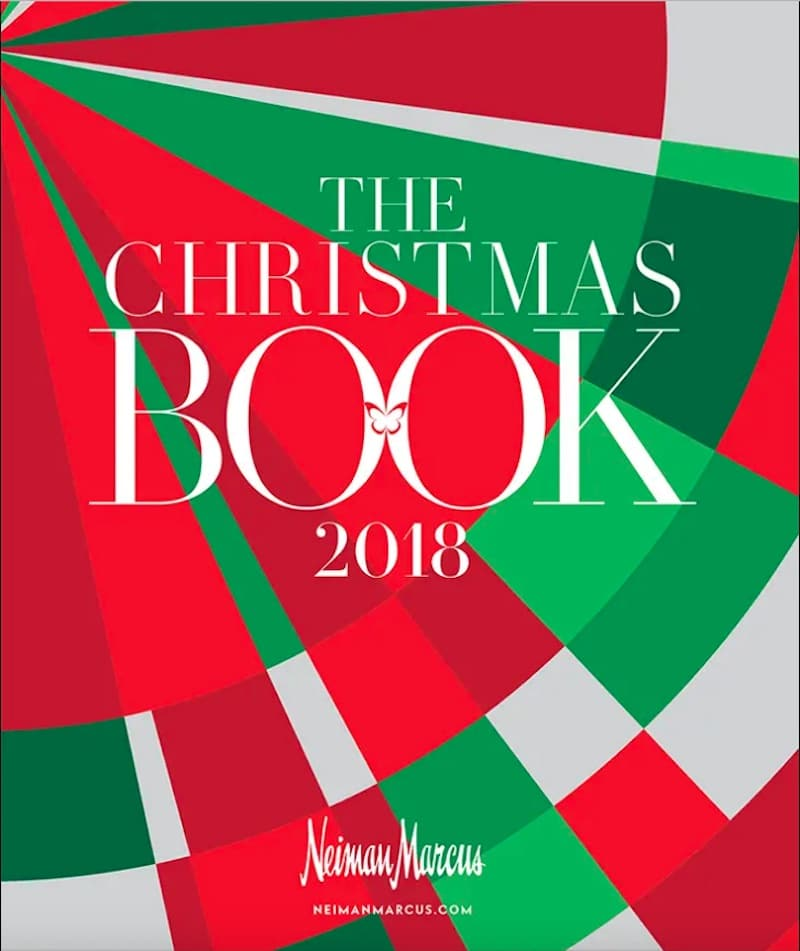 The cover of the Neiman Marcus Christmas Book for 2018